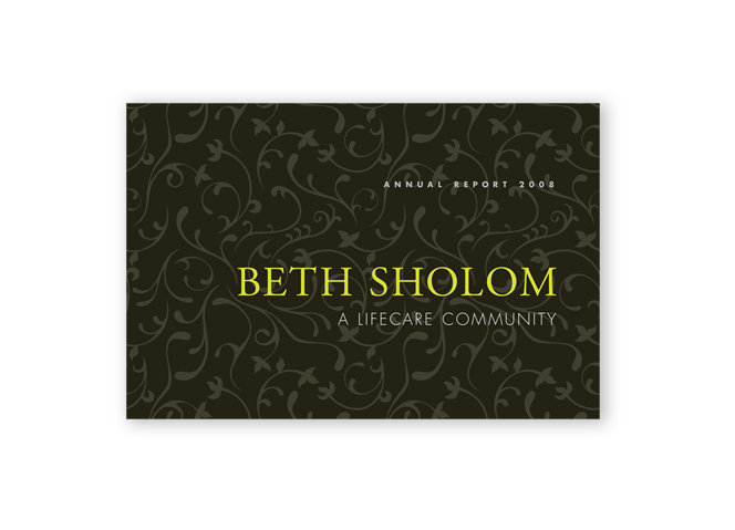 Beth Sholom Annual Report