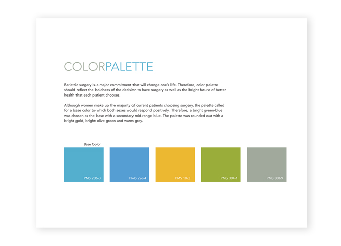 Martha Jefferson Hospital Bariatrics identity concepts color