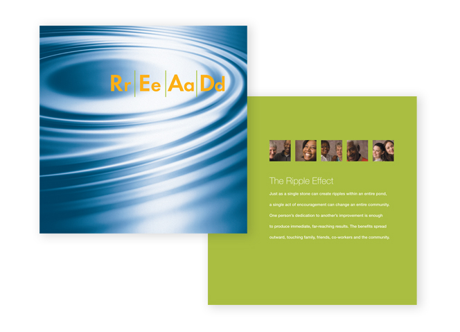 READ Campaign Brochure Cover and first page