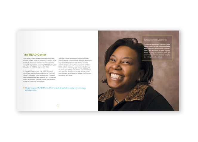 READ Campaign Brochure Spread