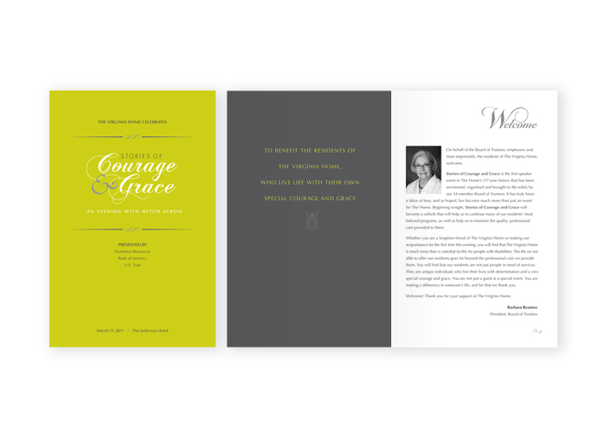 The Virginia Home Stories of Courage and Grace program